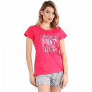 Pijama Dama Bumbac 100% Muzzy, Model 'Love Sleep'