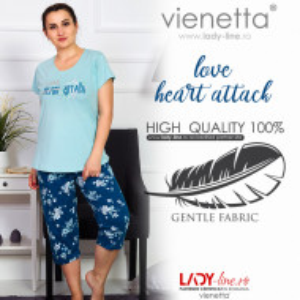 Pijama Dama Marimi Mari, Vienetta, 'Love Heart Attack'