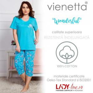 Pijama Dama Marimi Mari, Vienetta, 'Wonderful' Blue