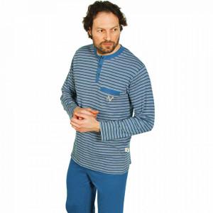 Pijamale Barbati Contro Senso, Model Blue The Great Victory