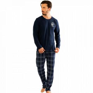 Pijamale Barbati din Bumbac 100% Gazzaz by Vienetta Model '#Brooklyn'