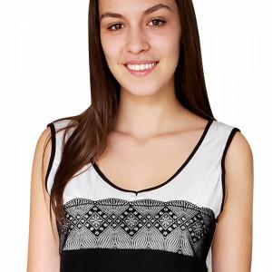 Pijamale Dama Bumbac 100%, Brand Charachter, 'Love Inspiration' Nero