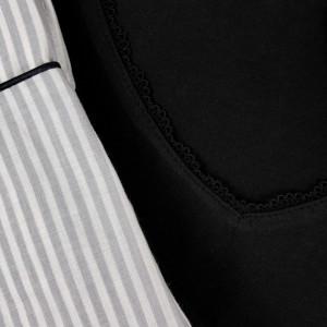 Pijamale Dama M-Max, Bumbac 100%, 'Dark Elegance'