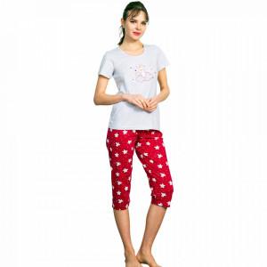 Pijamale Dama Vienetta, 'Dreamer My Love' Red