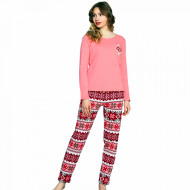 Pijamale Good Look Bumbac 100% Interloc, 'Winter Tradition'