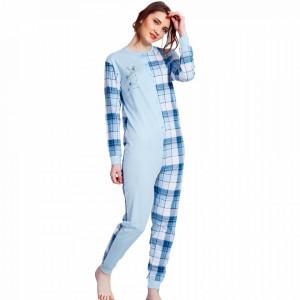 Salopeta Dama Vienetta 'Sweet Dreams Baby' Blue Bumbac 100%