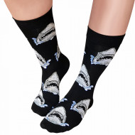 Sosete Clasice Colorate Unisex Cosas Boutique Socks Model 'Passion for Shark'