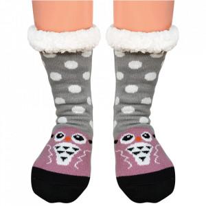 Ciorapi Imblaniti Lady-Line, 'Owl Boo'