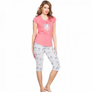 Pijama Dama Vienetta Kittens 'Meow' Pink