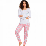 Pijamale Dama Vienetta, 'Is Kitty Day' Gray