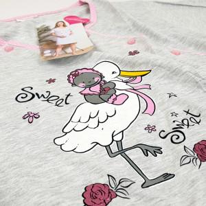 Camasa Gravide si Alaptat, 'Sweet Sweet Baby' Pink