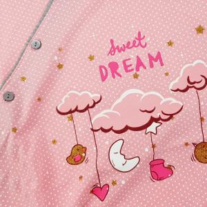 Camasa pentru Gravide si Alaptat din Bumbac Vienetta 'Sweet Dream'