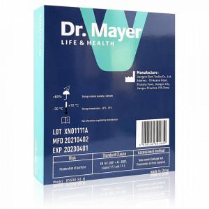 Masca Protectie FFP2 Fara Supapa Dr. Mayer Black Full Color Edition Cutie 5 Bucati