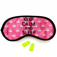 Ochelari Dormit si Antifoane Interne Urechi, Keep Calm and Sleep
