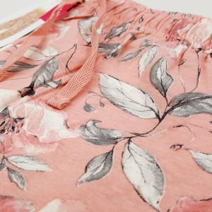 Pantalon Lung Pijama Dama Vienetta Model 'Pink Pastel'