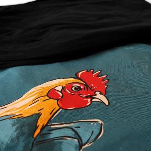 Pijama Barbati Gazzaz by Vienetta, 'Rooster - Limited Edition' Green