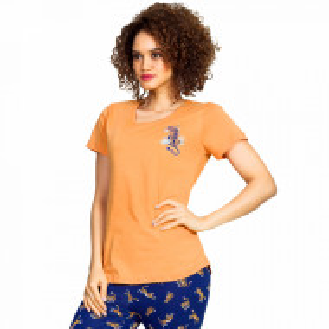 Pijama Dama Vienetta Bumbac 100% 'Wild and Sexy'