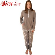 Pijamale Calduroase Dama, Brand 'Senso', 'Romantic Night' Brown