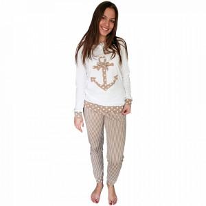 Pijamale Dama Bumbac 100%, Brand Charachter, 'Safari Siren'