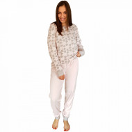 Pijamale Dama Maneca Lunga Milk and Honey, Model Joy Of Love