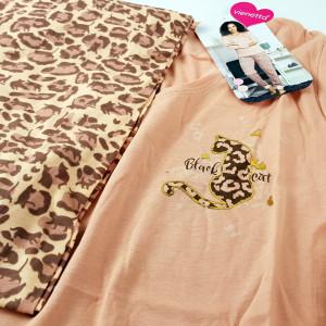 Pijamale Dama Vienetta, 'Charme Black Cat'