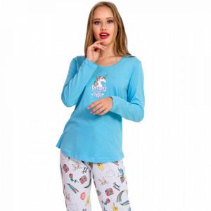 Pijamale Dama Vienetta, 'Dreams Come True' Blue