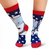Sosete Clasice Colorate Unisex Cosas Boutique Socks Model 'New Discoveries'