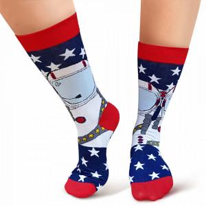 Sosete Clasice Colorate Unisex Cosas Boutique Socks Model 'New Discoveries'