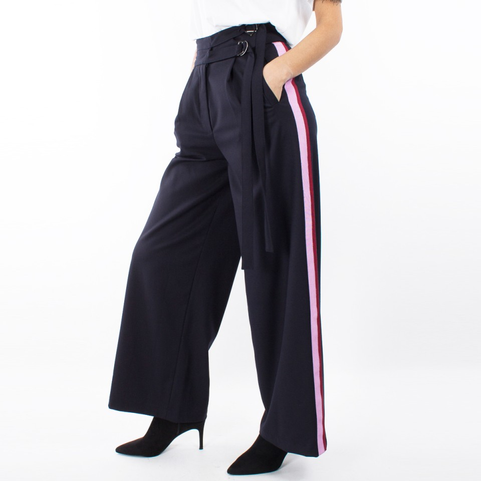 pantalone a palazzo Isabelle Blanche