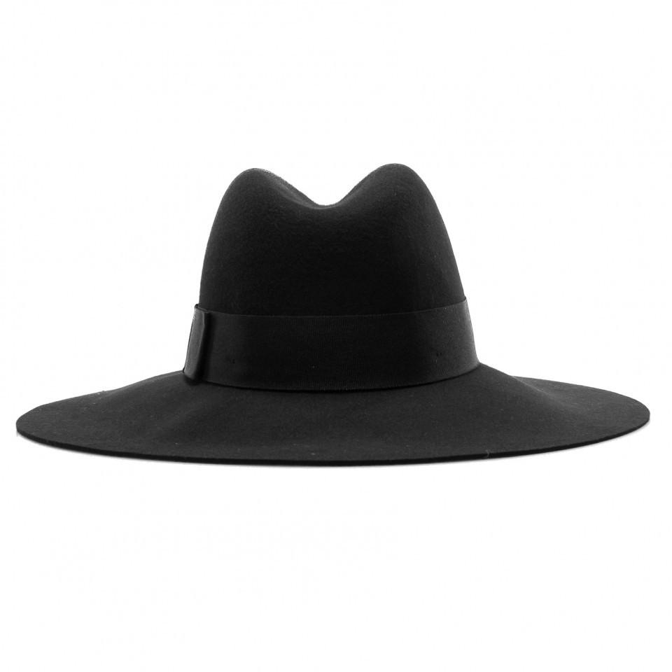 Cappello donna elegante nero Piper immagini 5f5b3db07f50