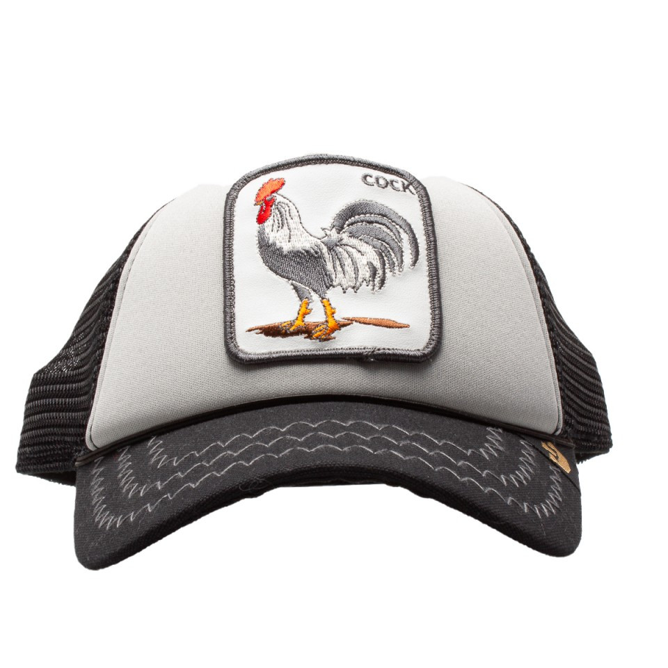 Goorin Bros hat visor trucker cock patch cock 9fe2eff61ba