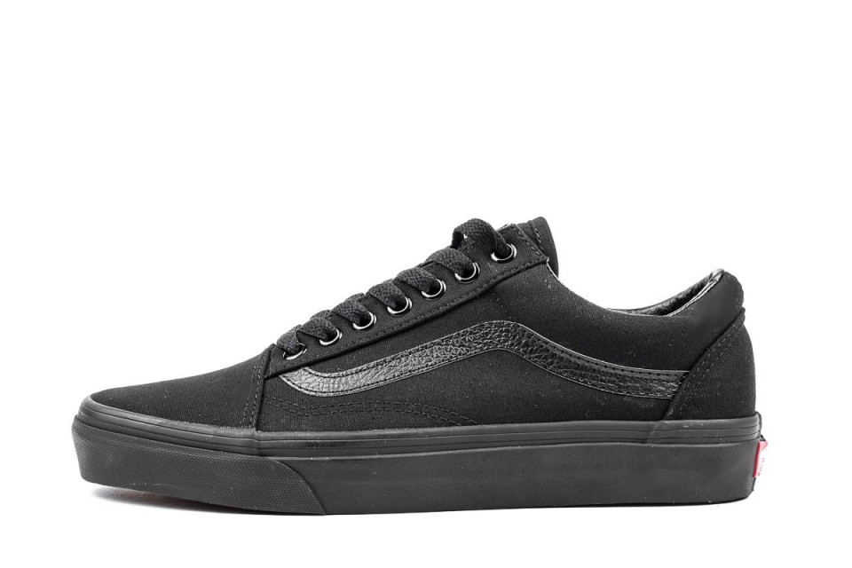 purchase cheap e67fe 74b2a Vans old skool total black