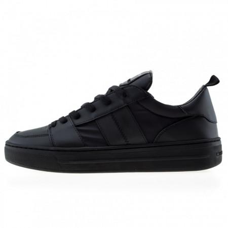 Crime-london-sneakers-basse-nere-total-black