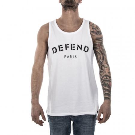 Defend Paris canotta bianca