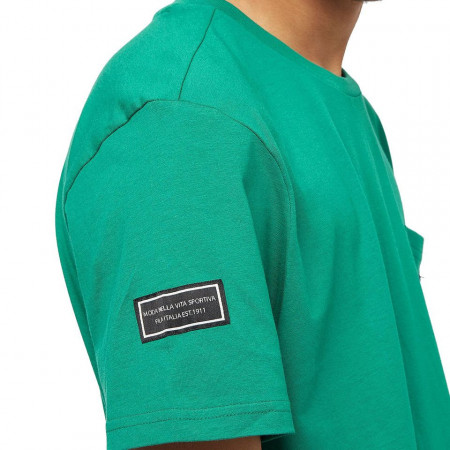 Fila t-shirt verde con taschino