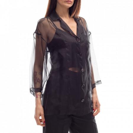 camicia-in-seta-trasparente-nera