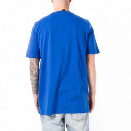 Numero 00 x lotto t-shirt blu uomo con logo