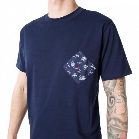 Commune de Paris t shirt uomo blu