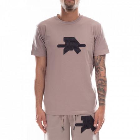 john-richmond-t-shirt-grigia-logo-gommato