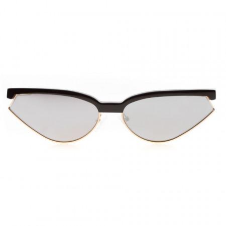 Leziff occhiali da sole a punta specchiati