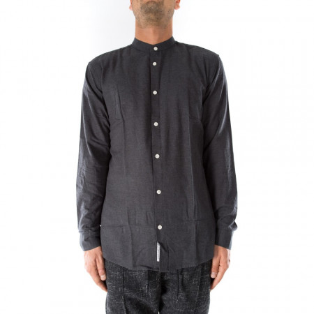 Minimum camicia collo coreana grigia