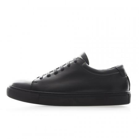 National Standard sneakers basse uomo nere para nera