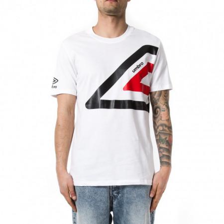 Umbro t shirt sportiva uomo con logo bianca