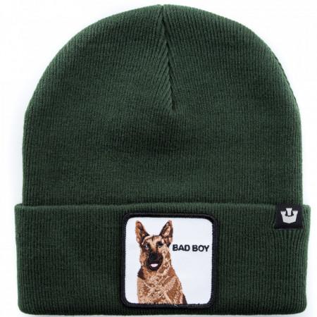 cappello-lana-verde-pastore-tedesco