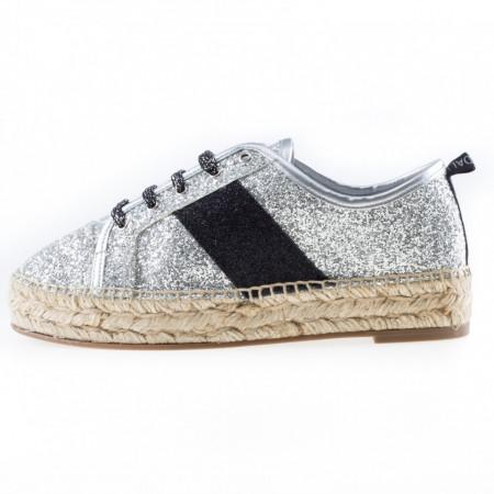 hot sale online 21215 99c92 Kendall + Kylie espadrillas donna glitter
