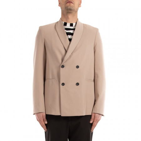 outlet store 2be27 caea5 Choice giacca doppiopetto uomo beige