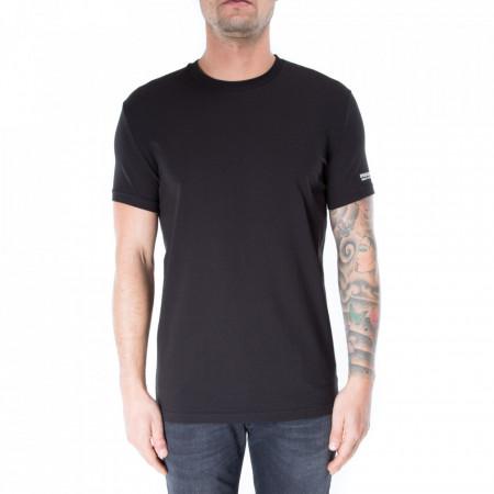 dsquared2-tshirt-nera-logata
