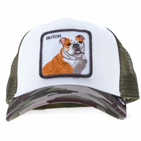 Goorin bros cappello trucker bulldog verde