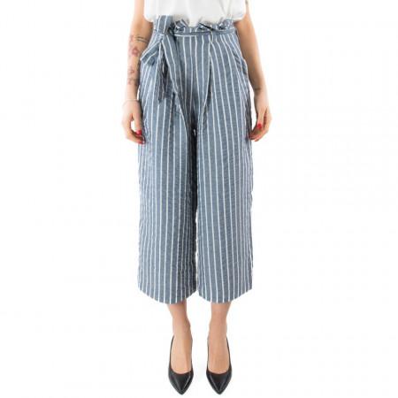 Eleven Paris pantalone a vita alta largo