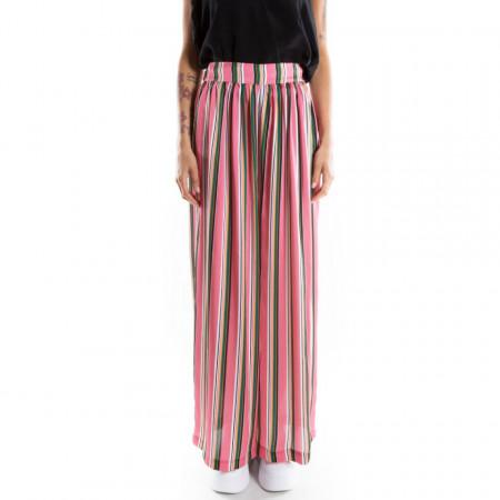 Marc Ellis pantalone palazzo a righe colorate